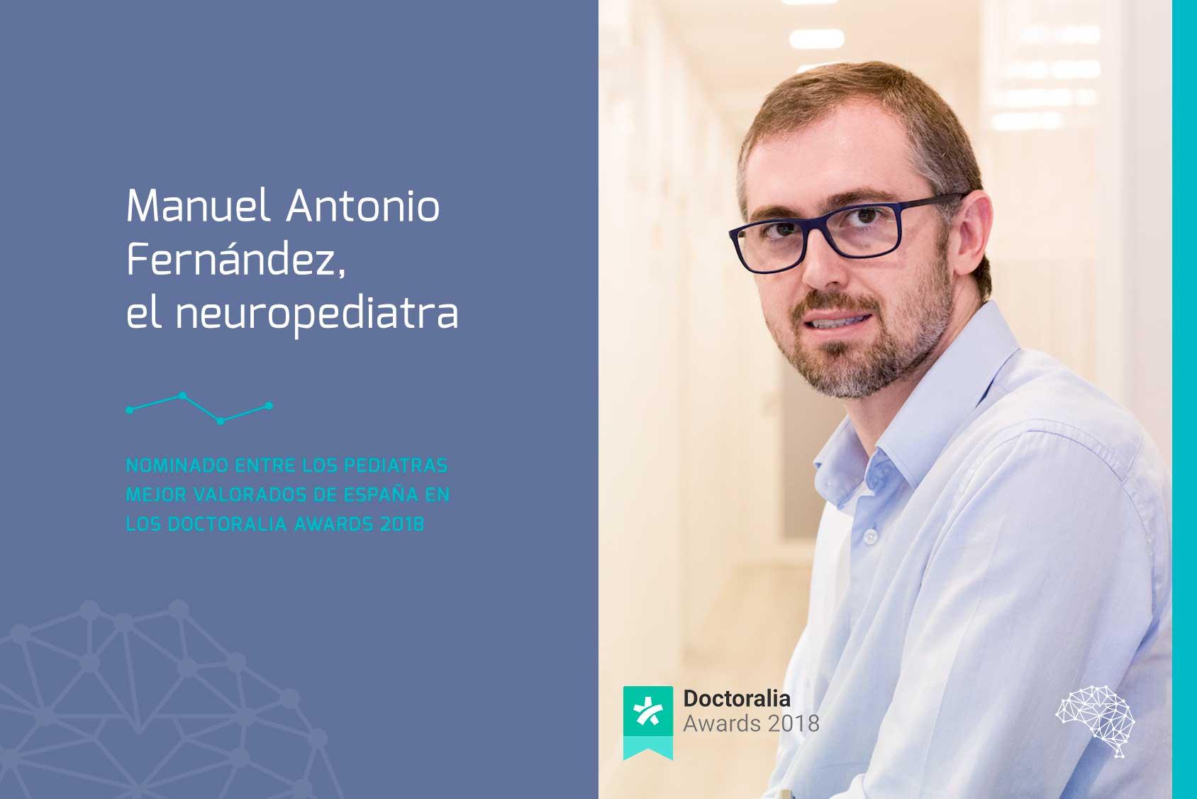 Manuel Antonio Fernández, candidato a mejor pediatra de España en 2018