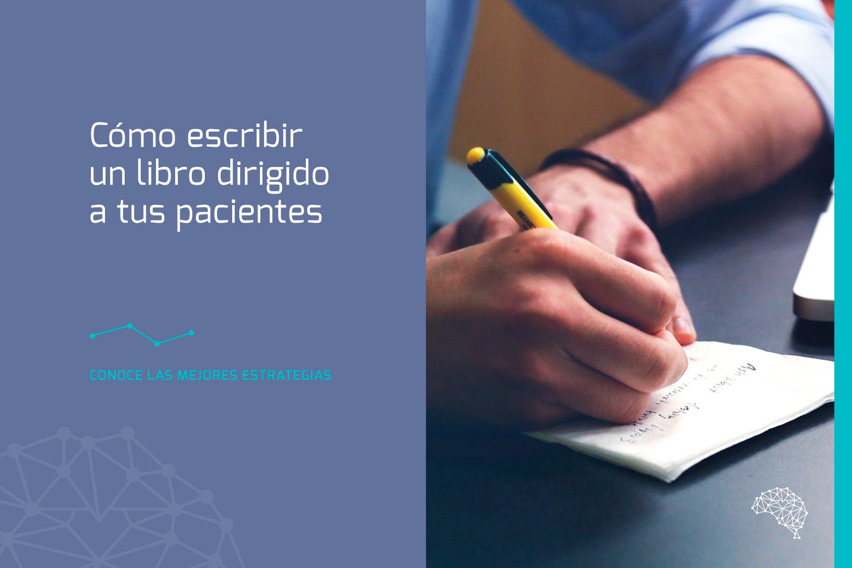 escribir libro pacientes